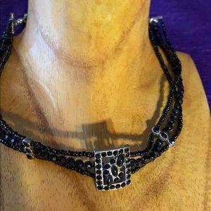 Choker black bridgerton Stlye necklace